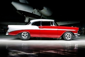 Eighteen years of effort pays off with a beautiful 1956 Chevy!