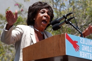 Los Angeles man gets home detention for threat against Rep. Maxine Waters