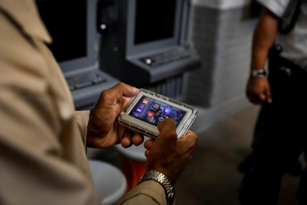 Crime: In U S  prisons, tablets open window to the outside