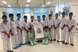 Thai cave boys to leave hospital, speak to media