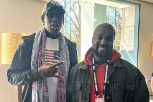 Yeezy diplomacy: Dennis Rodman plans to invite Kanye West to visit North Korea with him and meet Kim Jong-un... and claims the unlikely trip could inspire his next album
