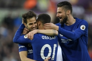 Hazard is Chelsea's best player and we need him – Fabregas