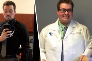 'I am shocked it works': Doctor loses 125 pounds with intermittent fasting