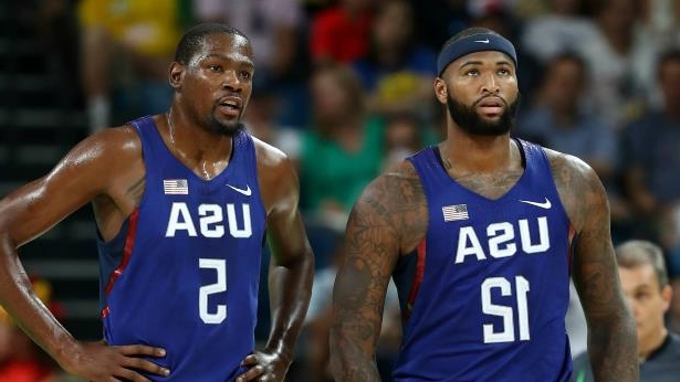 best authentic 95971 ff884 DeMarcus Cousins, Kevin Durant are posing for a picture