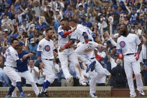 Cubs stun Diamondbacks 7-6 with consecutive homers in 9th