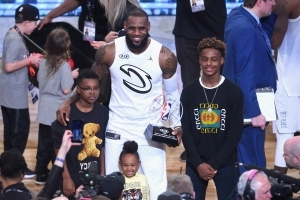 LeBron James says he regrets giving his oldest son, Bronny James, his own name