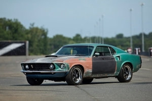 Rat Stang! This 1969 Mustang Is Officially The World's Coolest Parts Hauler