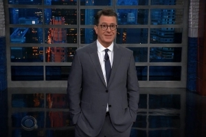 Stephen Colbert on Les Moonves New Yorker Expose: 'Ronan Isn't Known for His Puff Pieces' (Video)