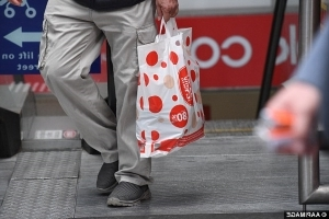 1a2d893444df Coles is slammed for yet ANOTHER plastic bag backflip as protesters say the  new plan is