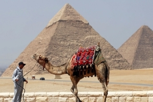 Egypt's most famous pyramid has a mystery power