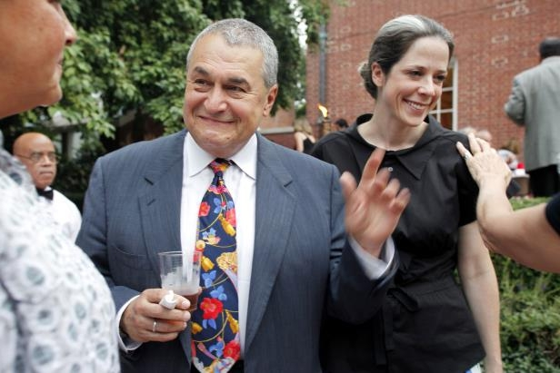 Image: Tony PodestaIn this 2011 file photo, Heather and Tony Podesta (Chairman Podesta Group) attended an event to celebrate the marriage of lawyer Jack Einwechter to Congresswoman Loretta Sanchez on Aug. 2, 2011 in Washington.
