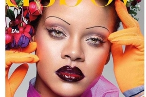 Rihanna 'honoured' to front prestigious British Vogue issue
