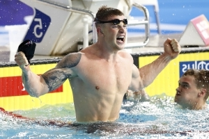 Peaty shaves 0.13 off of own 100m breaststroke world record