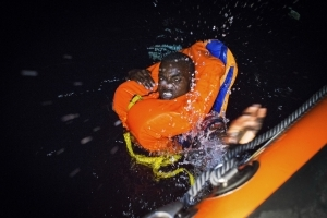 Spain saves 223 migrants trying to cross the Mediterranean