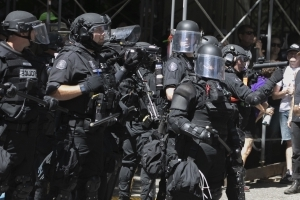 Oregon police chief orders review of use of force at Portland protest