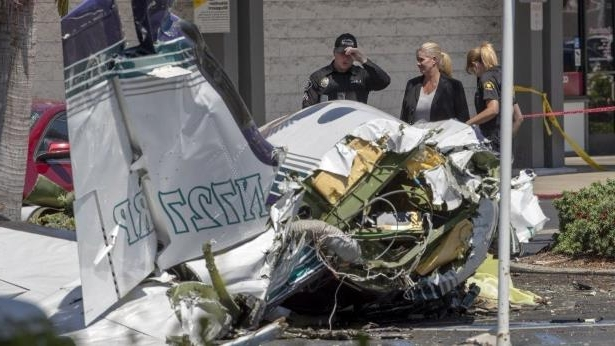 Offbeat: Victims of fatal Santa Ana plane crash identified
