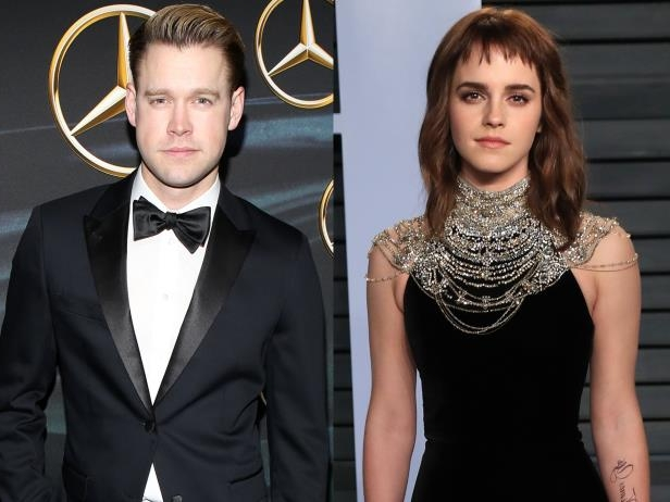 Slide 17 of 92: Emma Watson and Chord Overstreet went public with their new romance in March. The