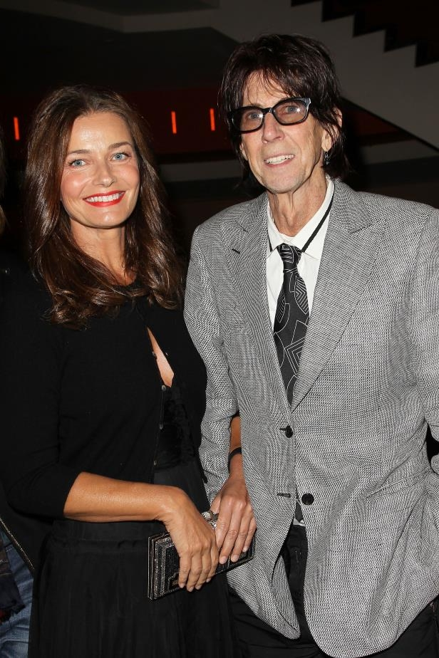 Slide 19 of 92: Paulina Porizkova and The Cars frontman Ric Ocasek announced they were splitting on May 2. The model posted a metaphor-filled statement announcing her split from the rocker on social media.
