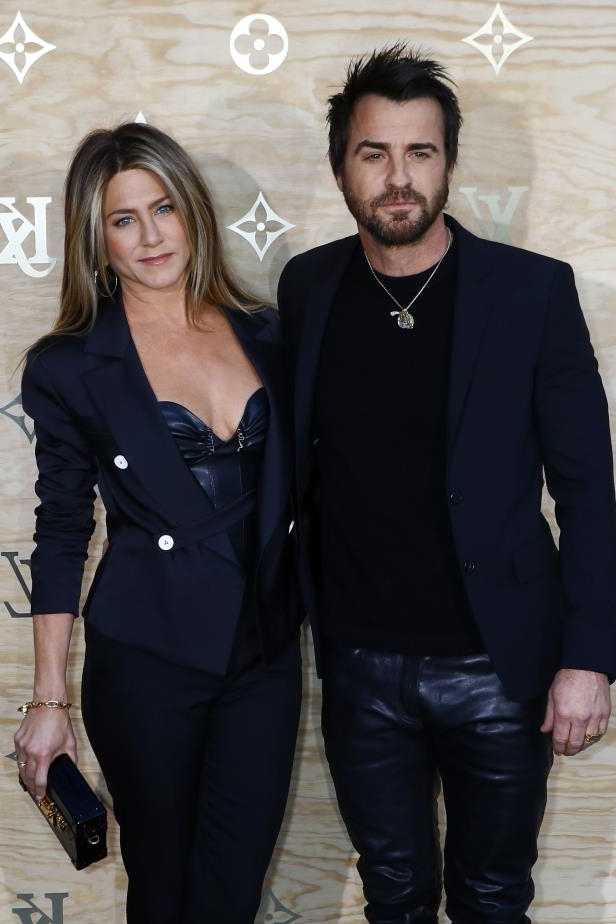 Slide 20 of 92: After months of tabloid speculation, on Feb. 15, Jennifer Aniston and Justin Theroux announced that they'd separated in late 2017, two and a half years after they threw a surprise backyard wedding and nearly seven years after they went public with their unexpected romance.