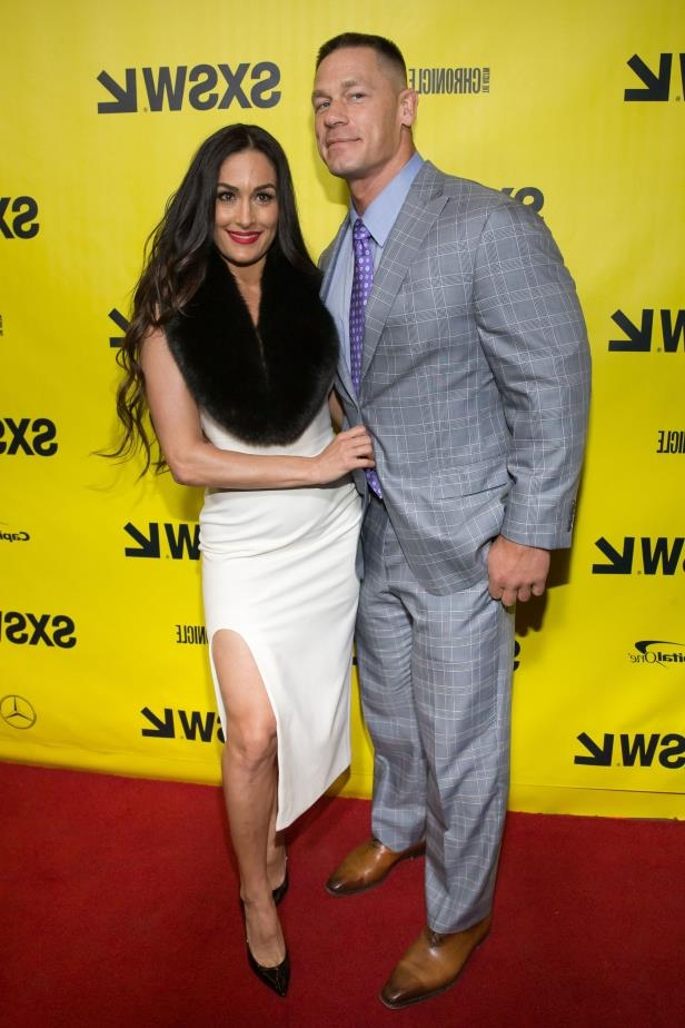 Slide 22 of 92: A year after John Cena proposed in the wrestling ring as cameras rolled -- and just weeks before they were set to marry in Mexico -- he and fiancé Nikki Bella announced that they'd called it quits.