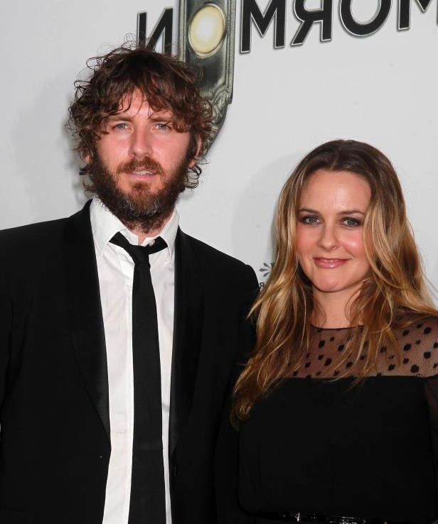 Slide 24 of 92: After two decades as a couple and 13 years of marriage, Alicia Silverstone and musician Christopher Jarecki have separated.