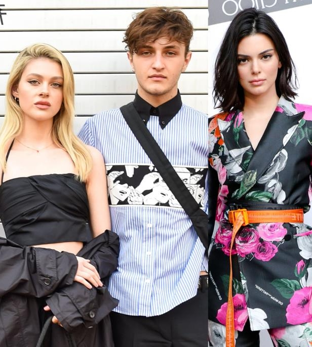 Slide 41 of 92: The world learned that Gigi Hadid and Bella Hadid's little brother Anwar Hadid, who's also a model, had seemingly split with his girlfriend of more than a year, model-actress Nicola Peltz, when a photo of him making out with Kendall Jenner was published by TMZ in early June. It's unclear whether or not Anwar and Nicola were still together when he was caught kissing Kendall, but the blonde