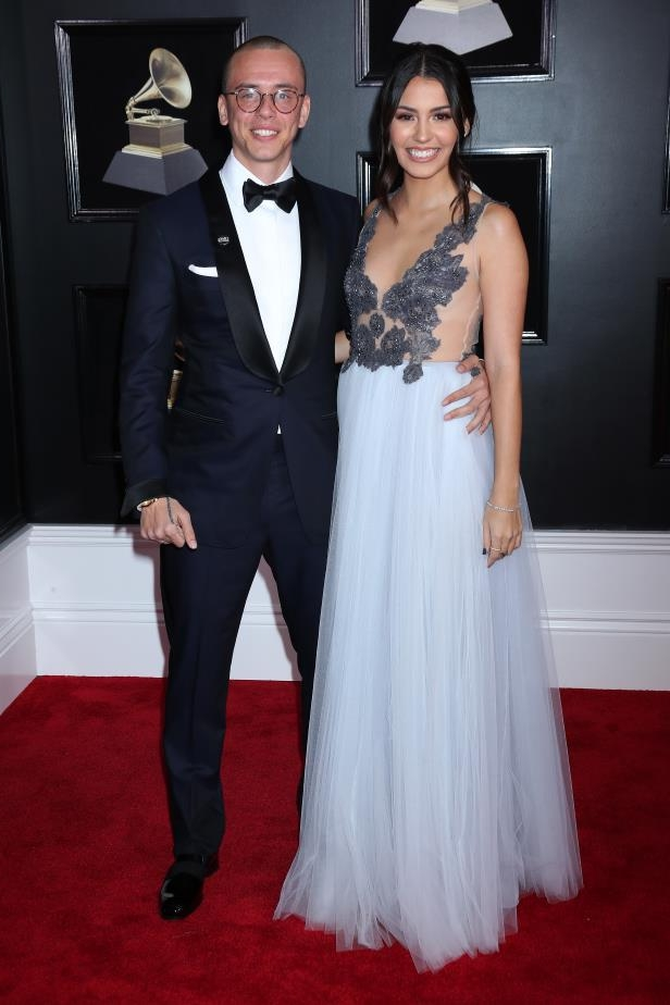 Slide 86 of 92: On March 16, TMZ confirmed that music star Logic and Jessica Andrea, his wife of two years, were ending their marriage. The site reported that they had a prenup and that the rapper is the one who ended it because he realized he was