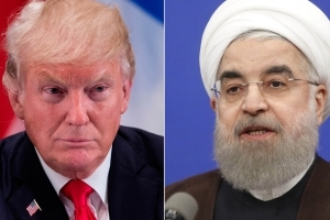 Trump warns countries against doing business with Iran