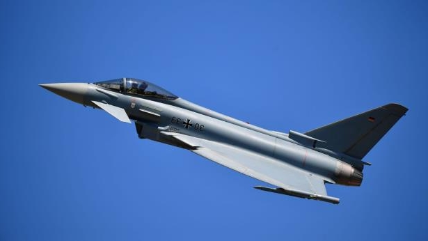 A Eurofighter Typhoon accidentally fired a missile in Estonia