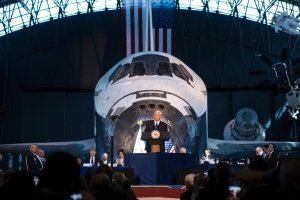 Pence will visit Pentagon to discuss a Space Force