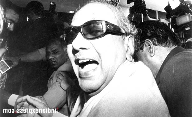 Slide 11 of 15: File photo of M Karunanidhi. (Express archive photo)