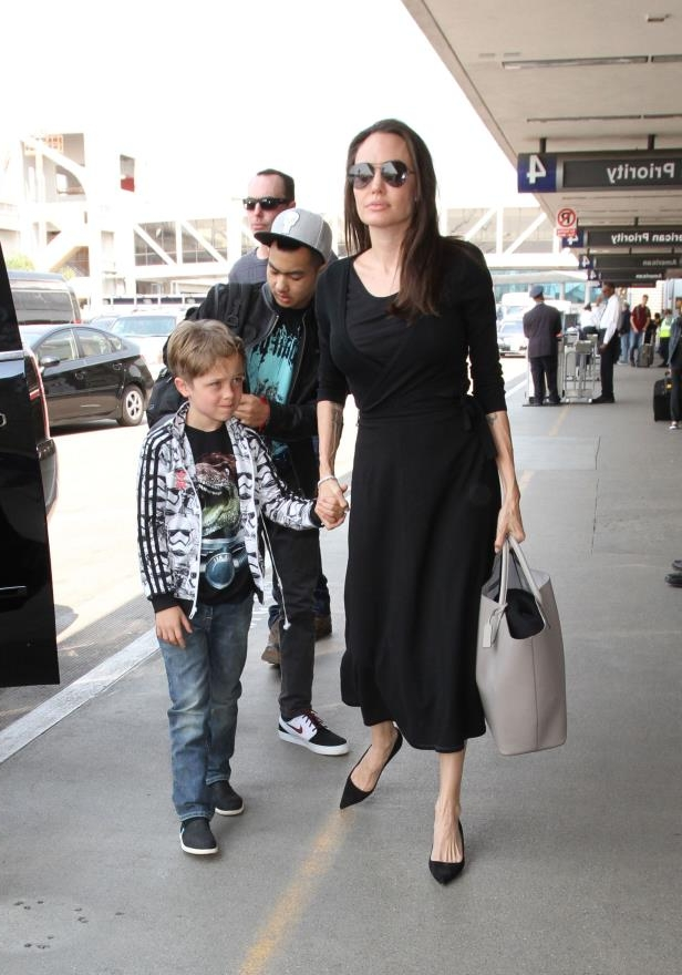 Slide 38 of 38: On Sept. 19, 2016, Angelina Jolie filed divorce papers to end her marriage to Brad Pitt, citing irreconcilable differences. The documents revealed she was seeking sole physical custody of their six children and wasn't requesting spousal support.