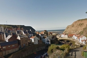 Girl, nine, dies in rock fall on Yorkshire beach