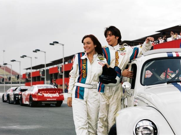 Slide 9 of 37: 'HERBIE : FULLY LOADED' FILM STILLS - 2005 HERBIE: FULLY LOADED, Justin Long, Lindsay Lohan, 2005