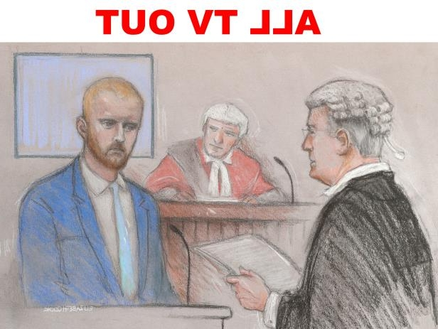 Court artist sketch by Elizabeth Cook of Ben Stokes being questioned by Gordon Cole QC, in the stand at Bristol Crown Court, where he is accused of affray in the Clifton triangle area of Bristol during the early hours of September 25 last year.