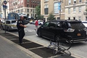 Australian cyclist killed by garbage truck in New York