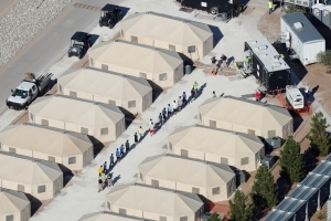 Trump Officials Keep 'Temporary' Tent Shelter For Migrant Kids Open Yet Another Month