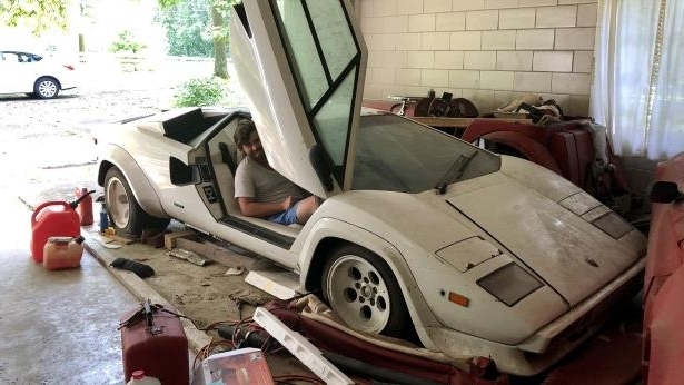 Classics Grandma S Lamborghini Countach Discovered After Twenty