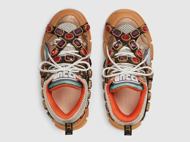 6bf42c565a1 Weird News  Gucci is selling bejeweled sneakers for  1