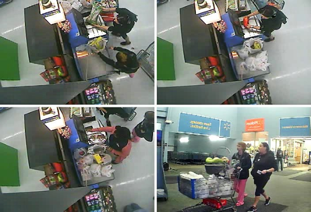 Video Footage Of Ms Thompsons Daughters At The Walmart In Semmes Showing Their Attempts