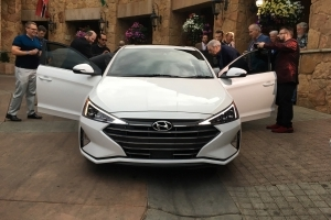 Exclusive Photos from the 2019 Hyundai Elantra Global Debut