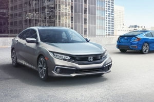 2019 Honda Civic coupe, sedan get Sport trim, more safety features