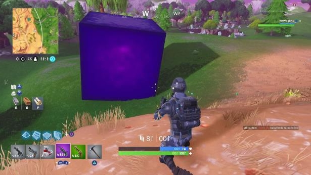 Technology Fortnite S Mysterious Cube Keeps Moving And I Can T