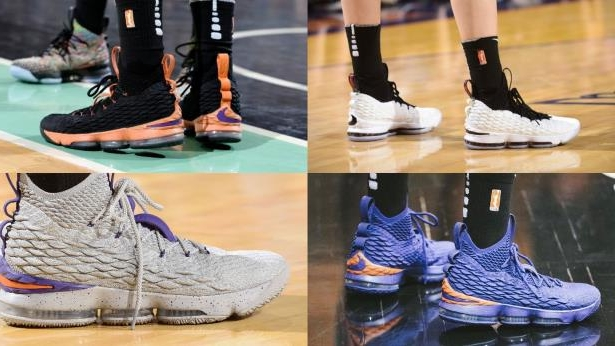 656f81a3bbc Sport  Diana Taurasi has the best collection of LeBron 15 sneakers ...