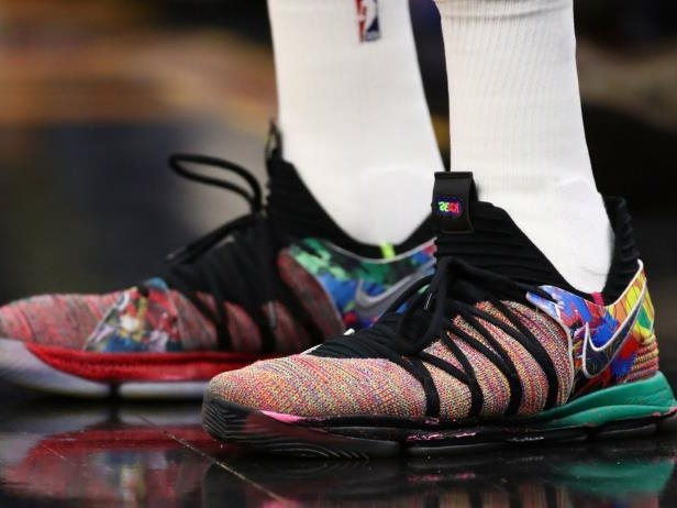 653017a687e Sport  Report  NBA allows players to wear shoe colors of choice in ...