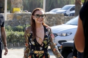 Lindsay Lohan's hilarious dance 'The Lilo' has gone viral