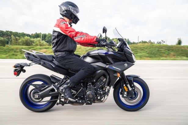 reviews first ride 2019 yamaha tracer 900 gt pressfrom. Black Bedroom Furniture Sets. Home Design Ideas