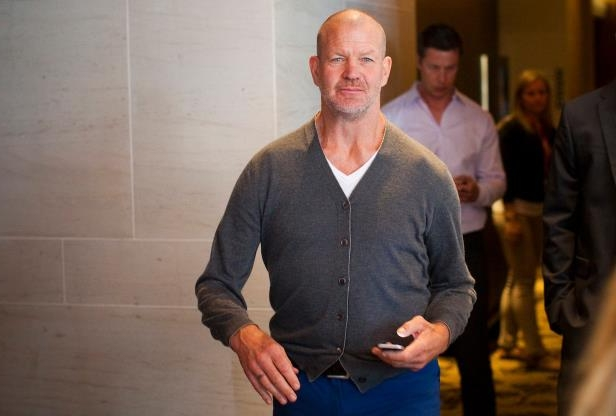 ab90c5224c Chip Wilson standing posing for the camera © Reuters. Lululemon founder ...