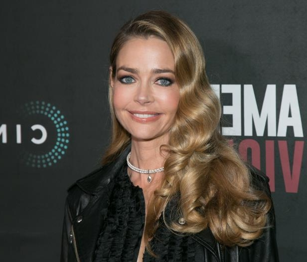HOLLYWOOD, CA - JANUARY 25:  Denise Richards arrives for the premiere of BondIt's 'American Violence'  at the Egyptian Theatre on January 25, 2017 in Hollywood, California.  (Photo by Gabriel Olsen/WireImage)