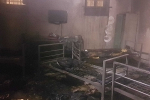 Austria: 6 deportees set fire to cell, leave farewell note